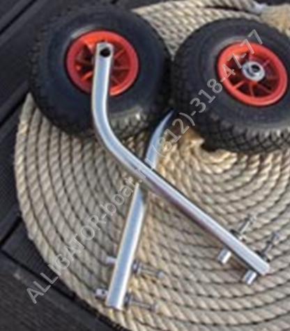 съемные колеса для лодок пвх