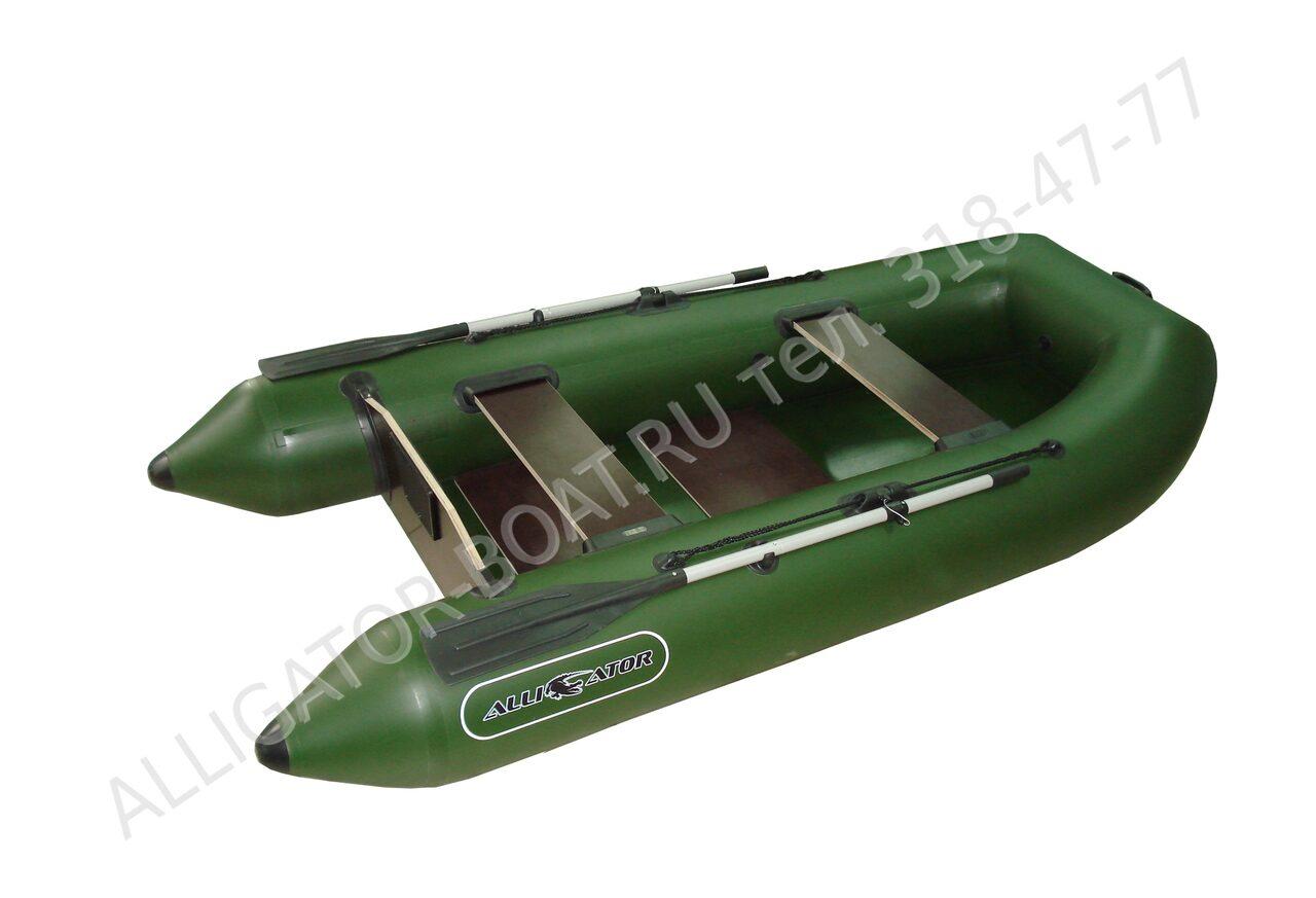 лодка пвх в аллигаторе