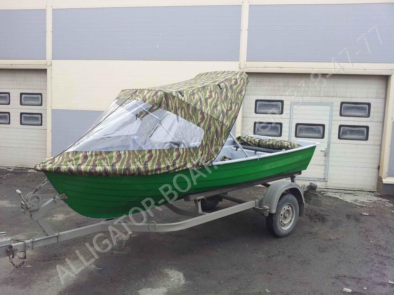 тент для лодки пвх 400
