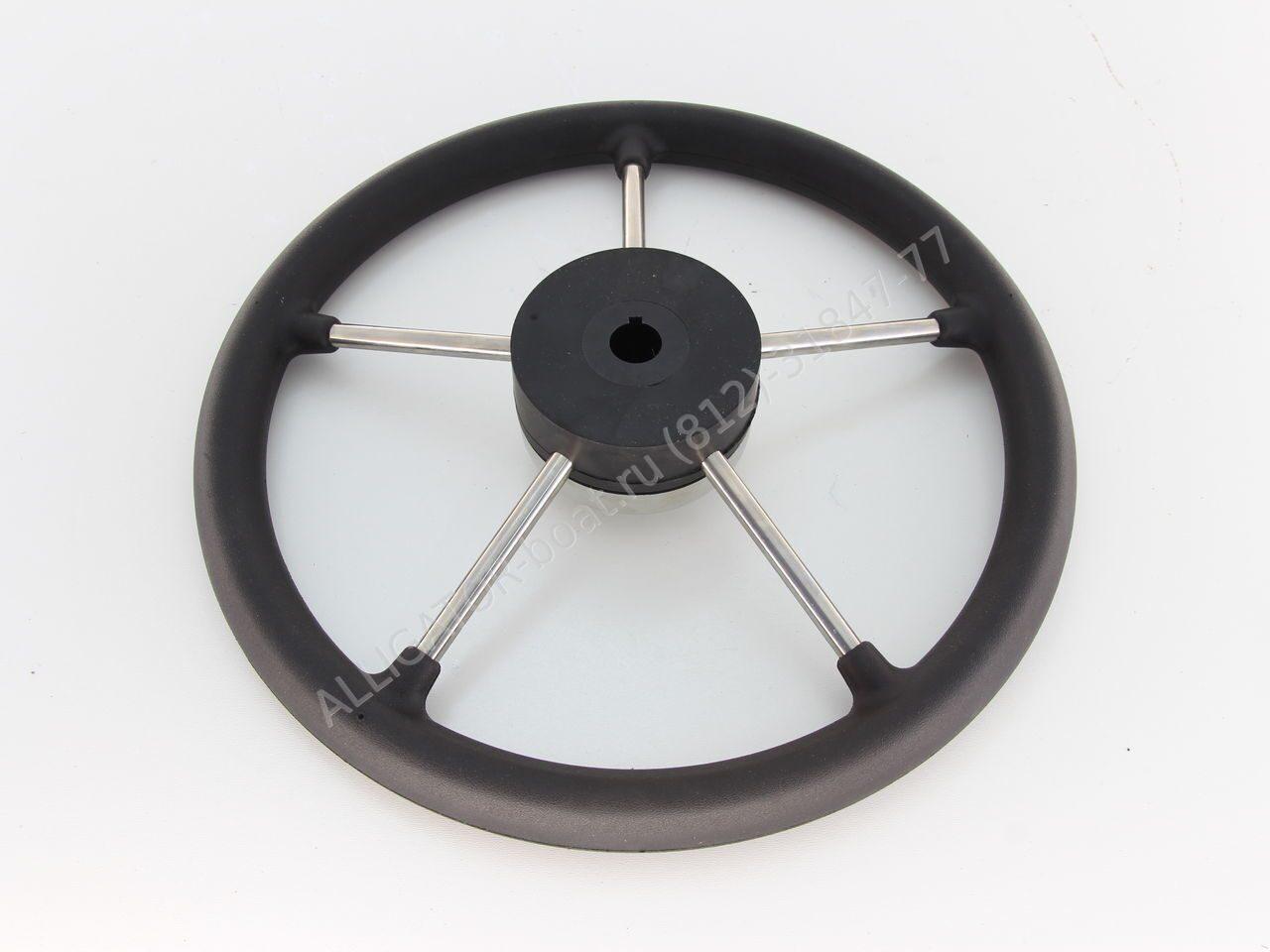 рулевое колесо управления лодкой