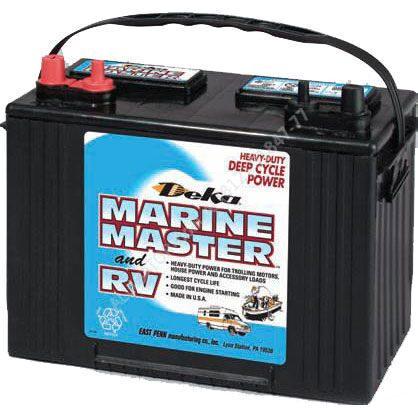 Аккумуляторная батарея глубокого разряда deka marine 7t31 (140а/ч)