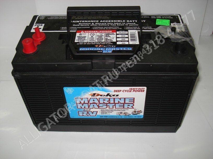 аккумулятор для лодочного мотора купить в москве