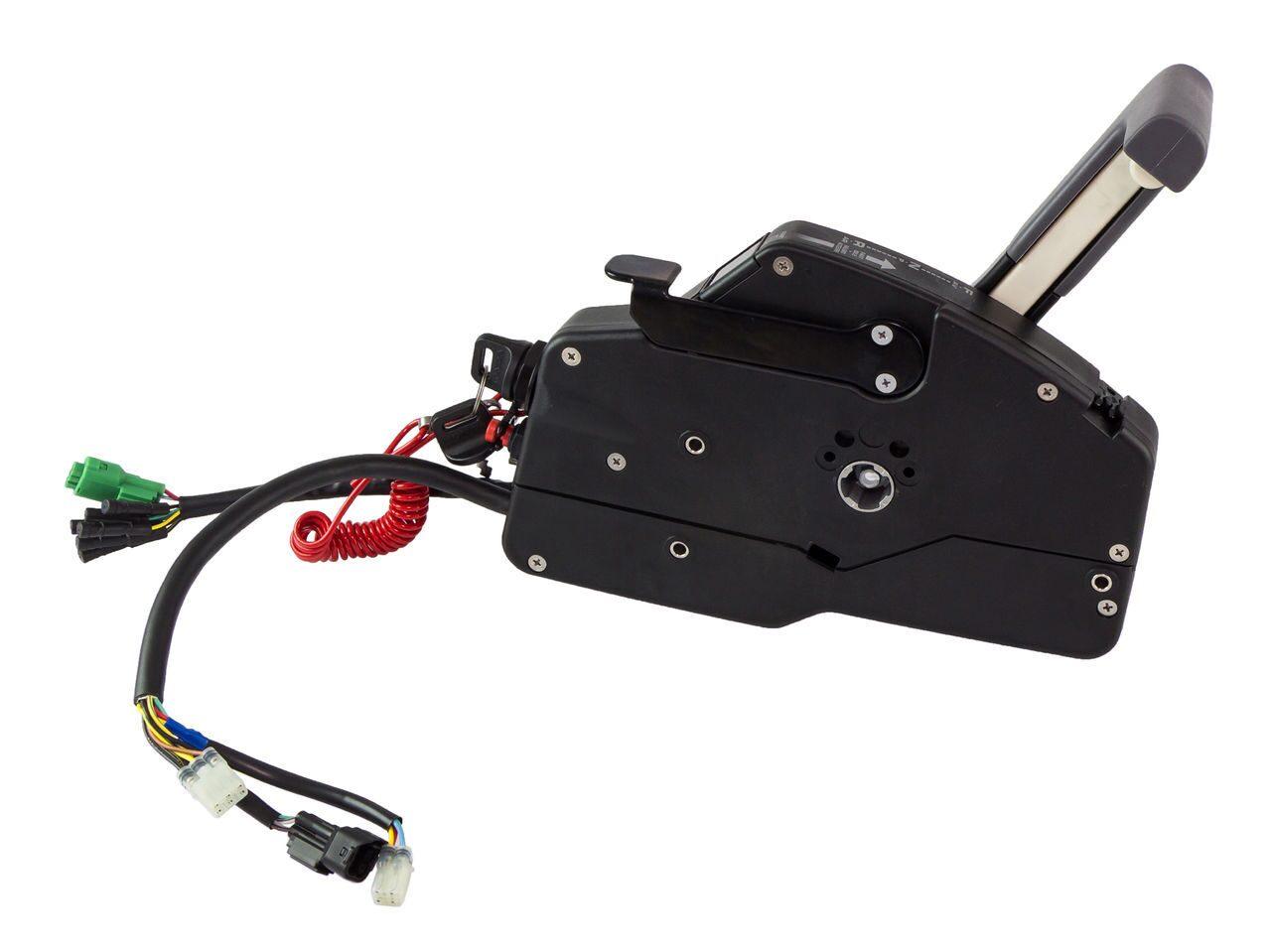 управление лодочным электромотором