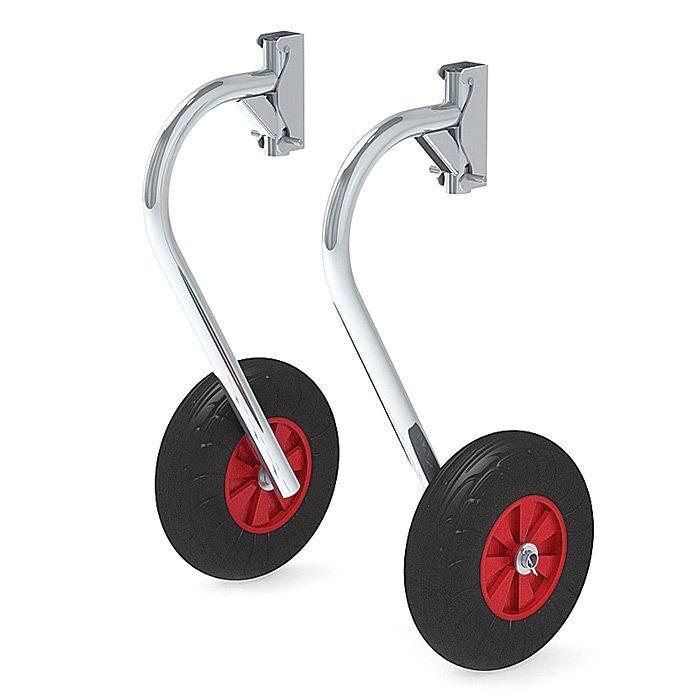 комплект колес для лодки пвх