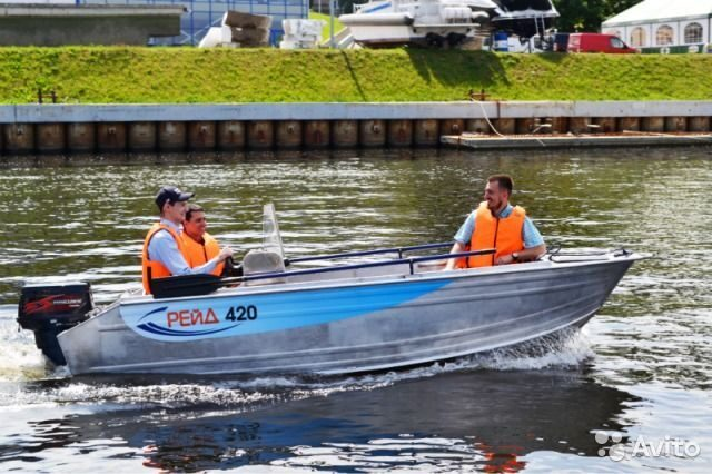 лодки рейд 420 производитель