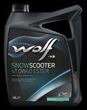 Масло Wolf SNOW SCOOTER 4T  0W40 ester (синтетика) 4л