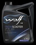 Масло Wolf SNOW SCOOTER 2T TC-W3 (мин.) 4 л